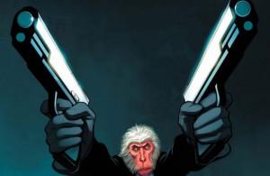 Hitman Monkey by Frank Cho