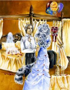 """Wedding Night"", c. 2009 by Heather Bruton"
