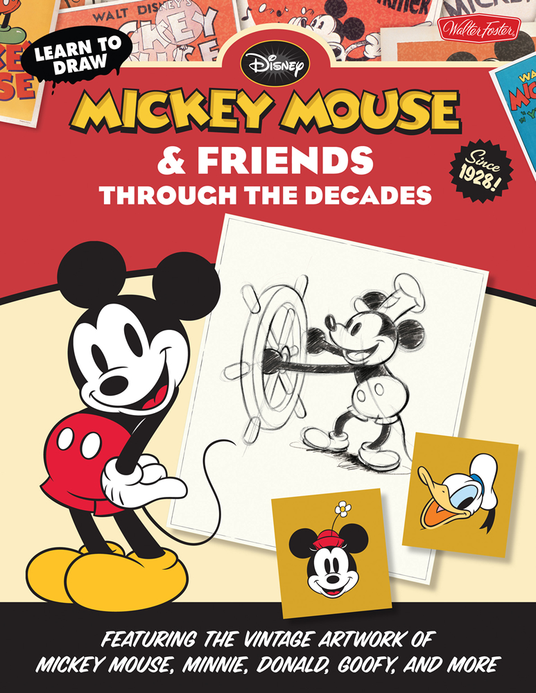 How to Draw Mickey Mouse - Drawing Tutorials - Learn how ...