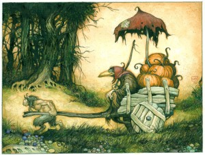 The Pumpkin Dealer by Larry MacDougall c. 2015