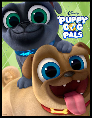 Puppy Dog Pals Thank You For Paw Ring With Us